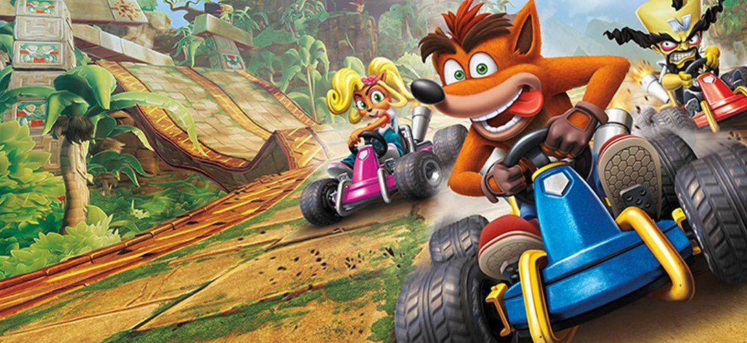 Os presentamos el pack de PS4 + Crash Team Racing Nitro Fueled con dos mandos DUALSHOCK 4