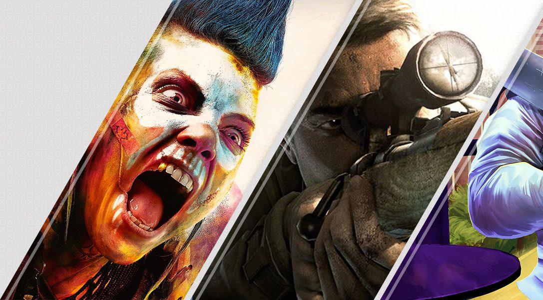 Nuevo en PlayStation Store esta semana: Rage 2, Sniper Elite V2 Remastered, A Plague Tale: Innocence y mucho más
