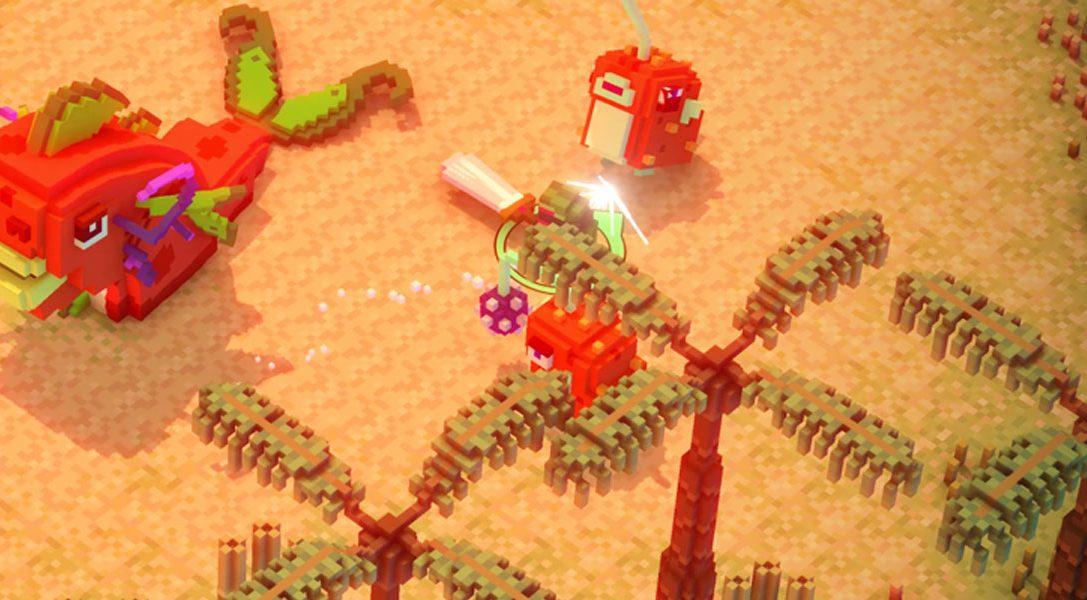 State of Play #2 | Riverbond es un juego de acción y disparos con vóxeles y referencias a juegos independientes