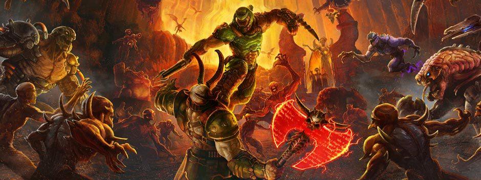 Echa un vistazo al nuevo gameplay de Doom Eternal y entérate de la fecha de lanzamiento