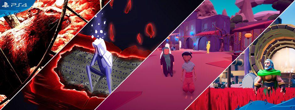 PlayStation Talents en junio | Juega ya a los mejores juegos 100 % made in Spain para PS4