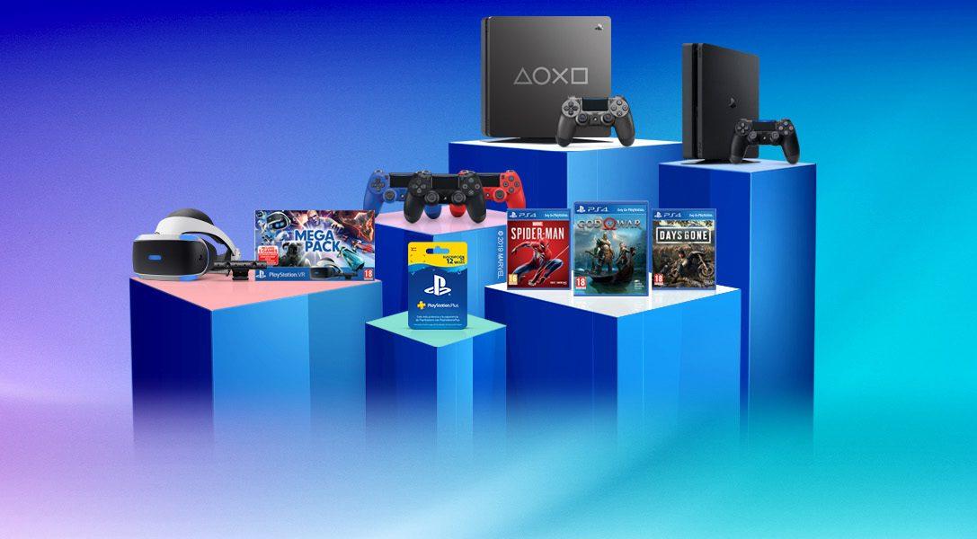 Celebra los Days of Play con nosotros y gana premiazos de PlayStation