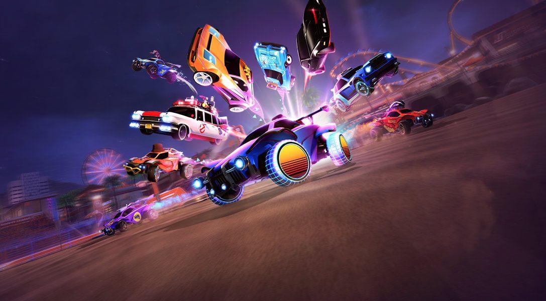 Rocket League regresa al pasado con el evento Radical Summer