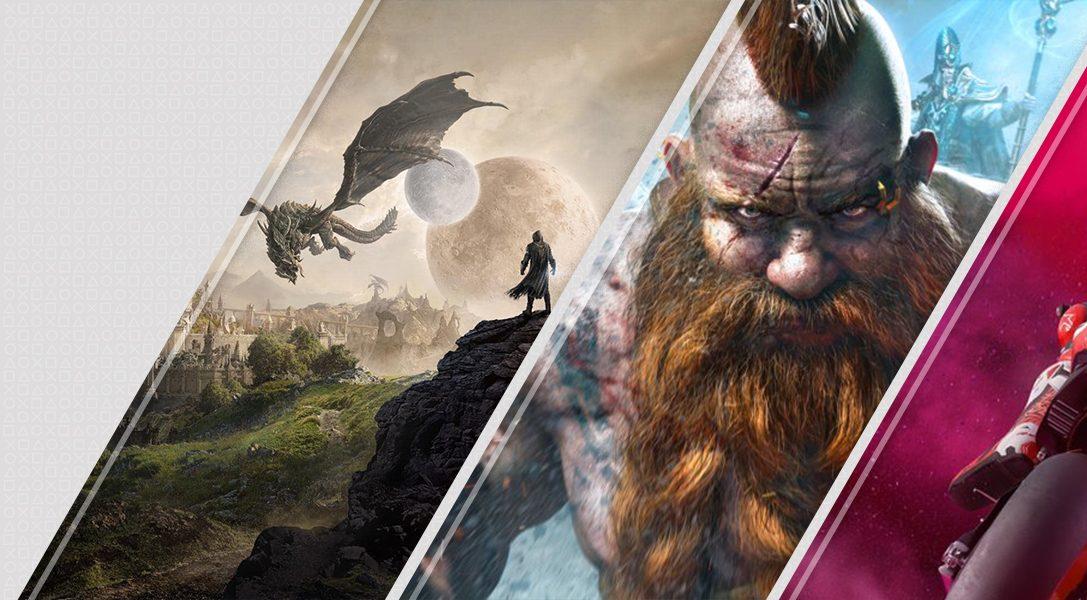 Lo último en PlayStation Store esta semana: The Elder Scrolls Online: Elsweyr, Warhammer: Chaosbane, MotoGP 19 y más