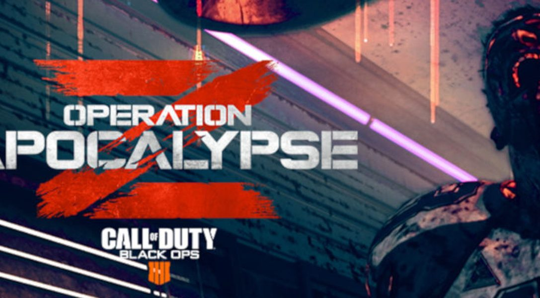 La operación Apocalypsis Z de Call of Duty: Black Ops 4 llega hoy a PS4