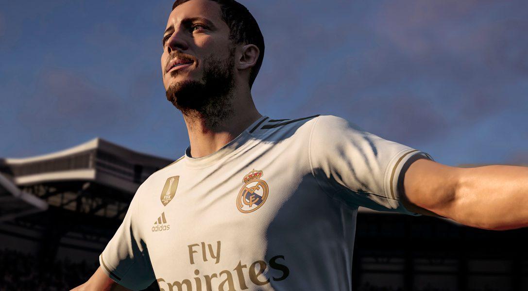 Hazard, van Dijk y Zidane serán los protagonistas en las portadas de FIFA 20