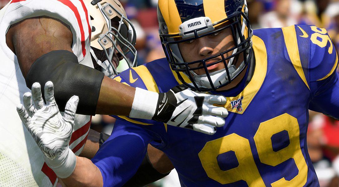 Echa un primer vistazo a Madden NFL 20