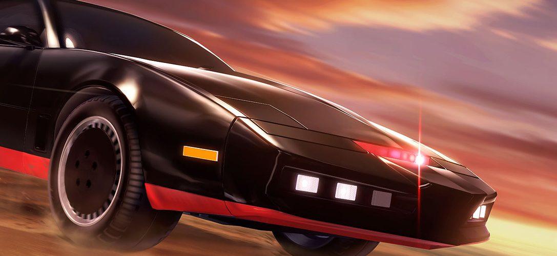 Un vistazo al interior de K.I.T.T., el coche fantástico en Rocket League