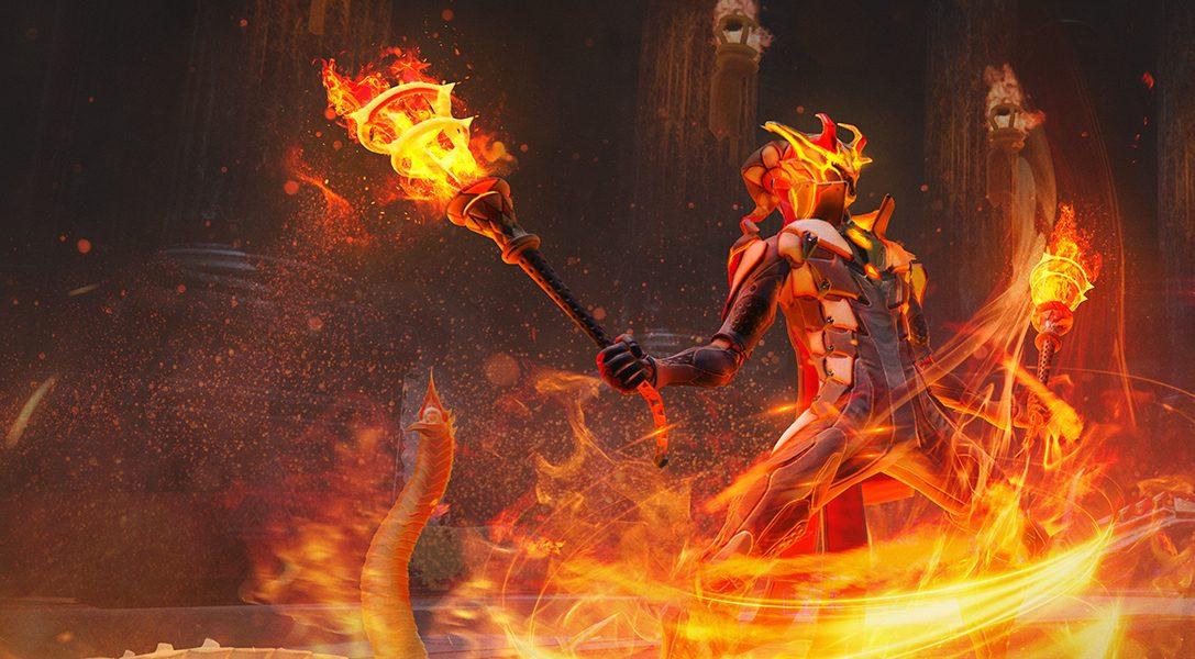 Incendia el mundo con la actualización de Skyforge y la clase Firestarter, disponibles en PS4 a partir de septiembre