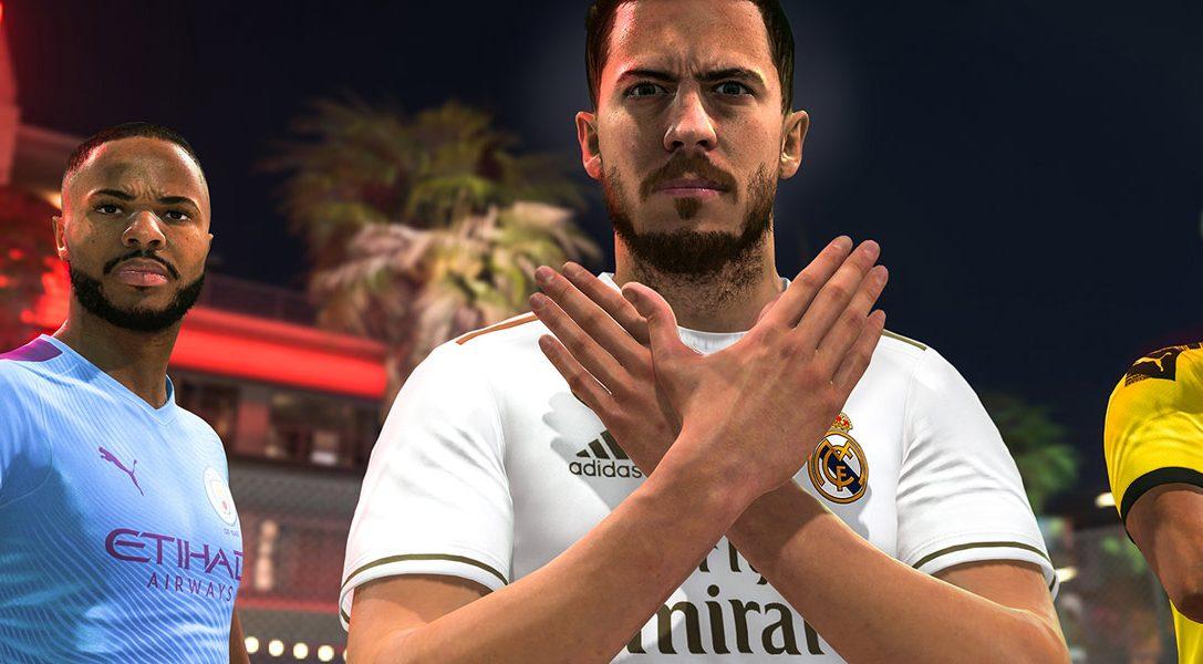 Los packs de PS4 con FIFA 20 llegarán este otoño
