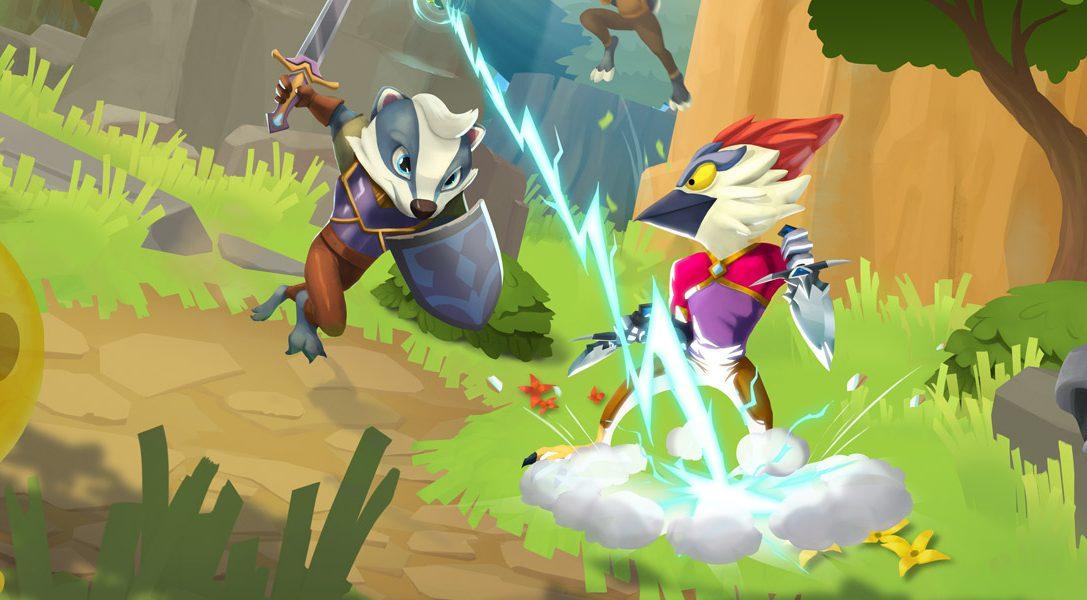 Conoce a los héroes y villanos de ReadySet Heroes en este dungeon crawler de PS4 que llegará en octubre