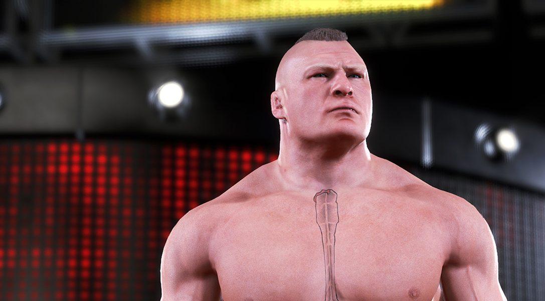 Echa un primer vistazo a WWE 2K20: en PS4 el 22 de octubre