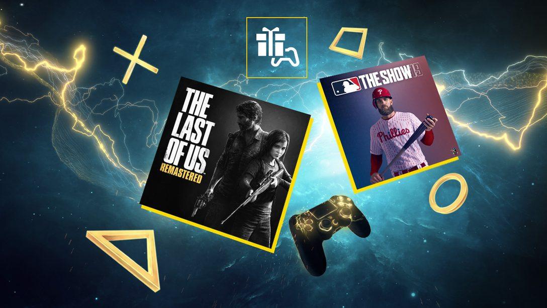 The Last of Us Remasterizado y MLB The Show 19 son tus juegos de octubre de PlayStation Plus