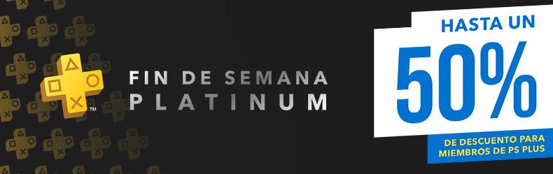 Fin de semana Platinum en PS Store con descuentos de hasta el 50 % para plusers