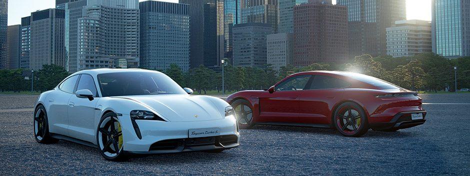 Gran Turismo afianza su alianza con la marca Porsche y su nuevo modelo Tycan