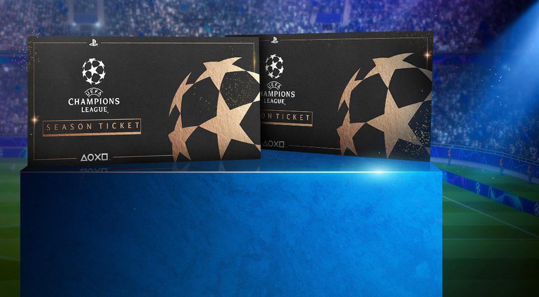 Gana un par de entradas de temporada para la UEFA Champions League   ¡Participa ya!
