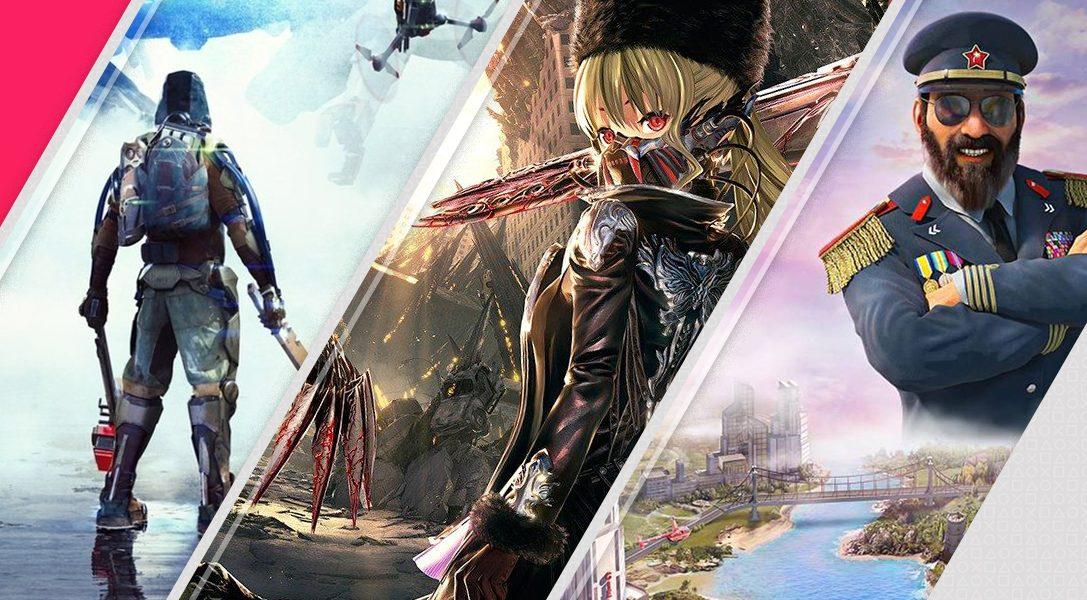 Estos son los nuevos lanzamientos esta semana en PlayStation Store
