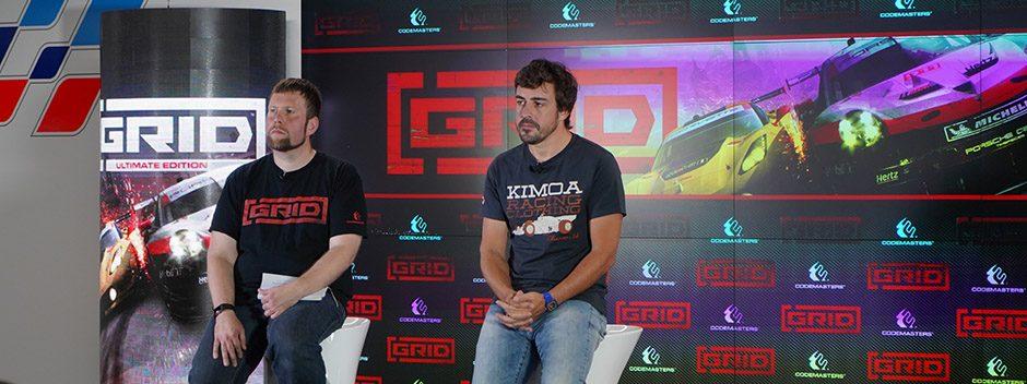 Codemasters, Koch Media y Fernando Alonso presentan GRID en Madrid