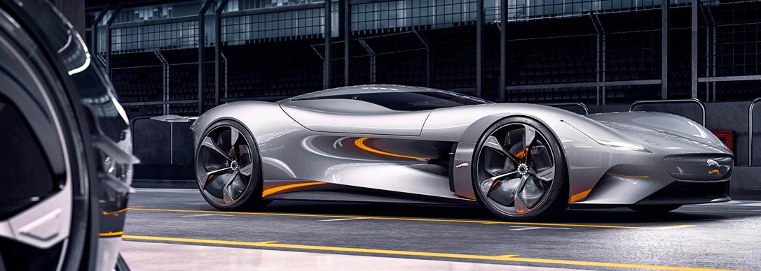 Jaguar diseña el Vision Gran Turismo Coupé para Gran Turismo Sport