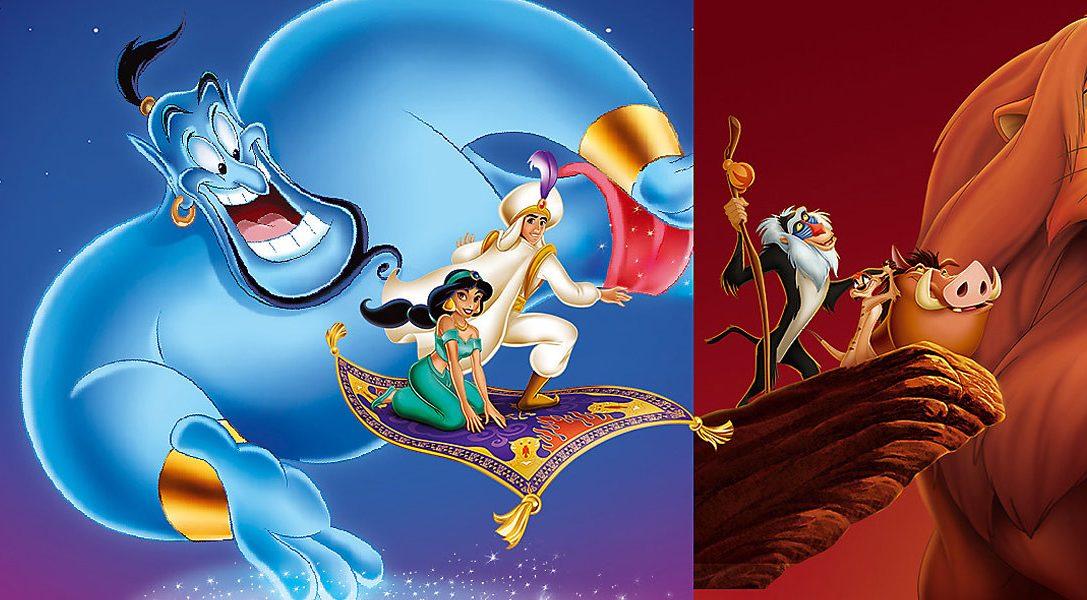 Revisita tus clásicos favoritos de 16 bits con Disney Classic Games: Aladdin y El rey león