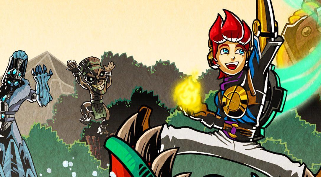La épica aventura de vieja escuela A Knight's Quest está ya a la venta para Playstation 4