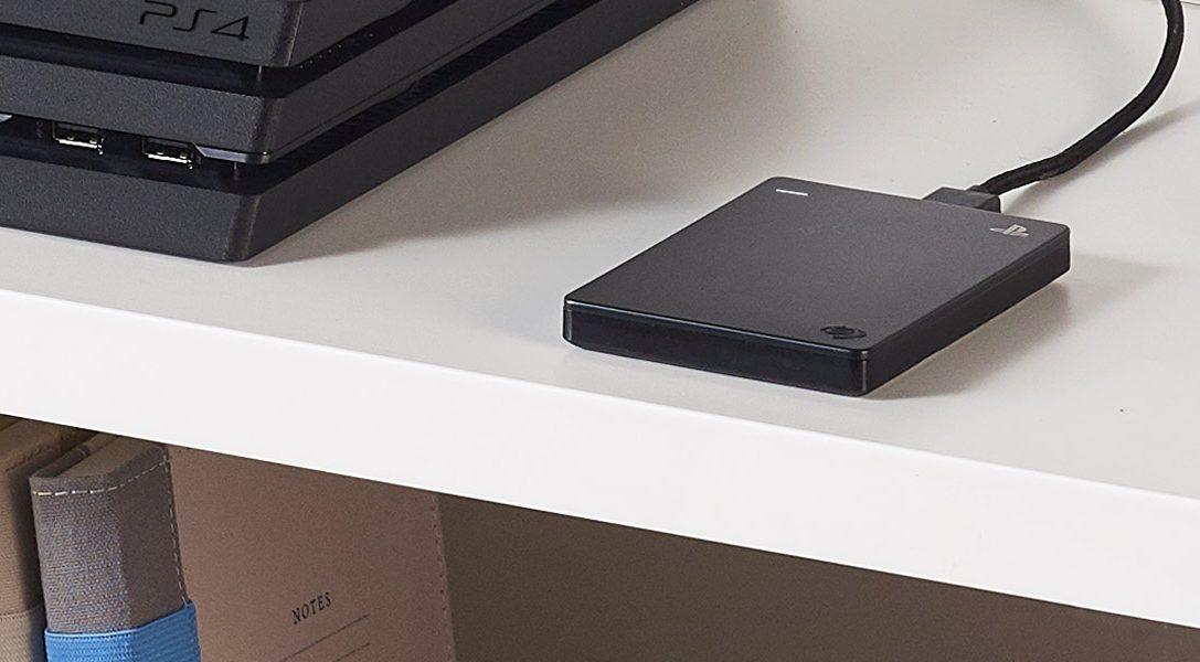 La unidad Game Drive de 2 TB de Seagate para PS4 llega a Europa