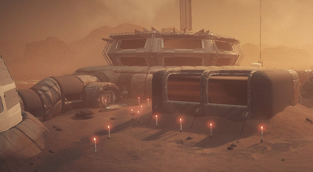 Sobrevive al título 'lovecraftiano' espacial Moons of Madness que llegará en enero a PS4