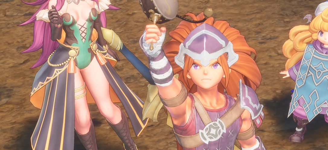 Cómo funcionan las clases de personaje en el remake de Trials of Mana, disponible el año próximo en PS4