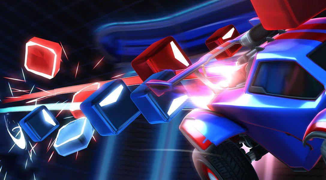 La colaboración de Beat Saber con Rocket League sale hoy a la luz