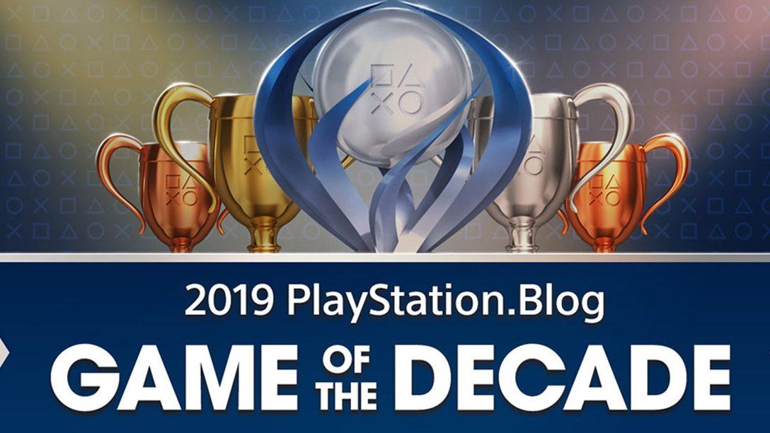 Vota por el juego de la década de PlayStation Blog