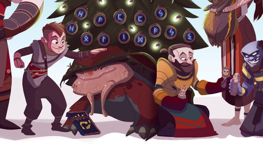 Las mejores tarjetas de Navidad de este año creadas por los desarrolladores de PlayStation