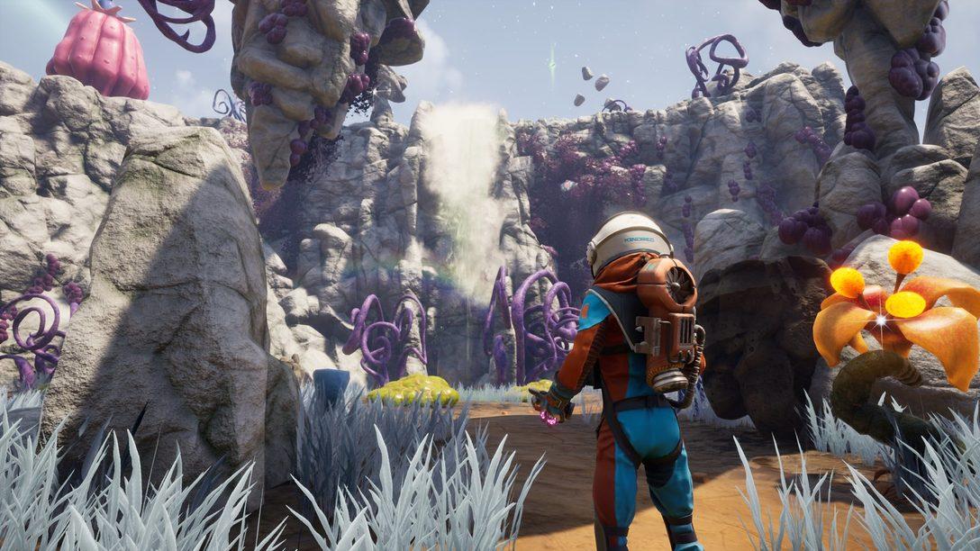 """""""Journey to the Savage Planet es todas esas cosas que no meterías en un videojuego"""""""