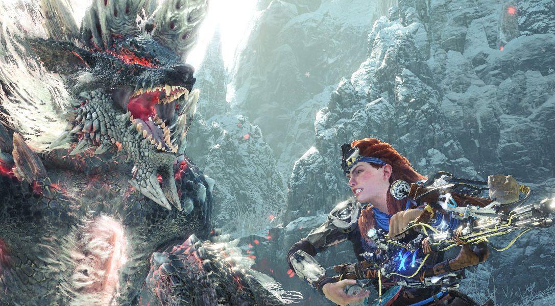 La nueva misión que une Monster Hunter World: Iceborne y Horizon Zero Dawn está disponible