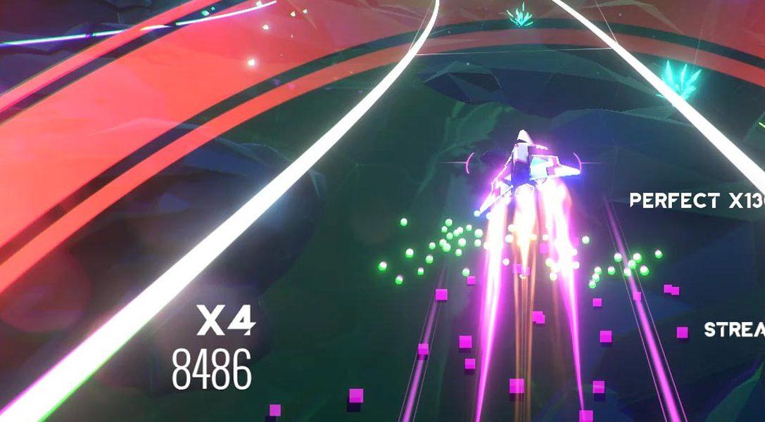 El juego de acción rítmica AVICII Invector sale a la venta para PS4 hoy