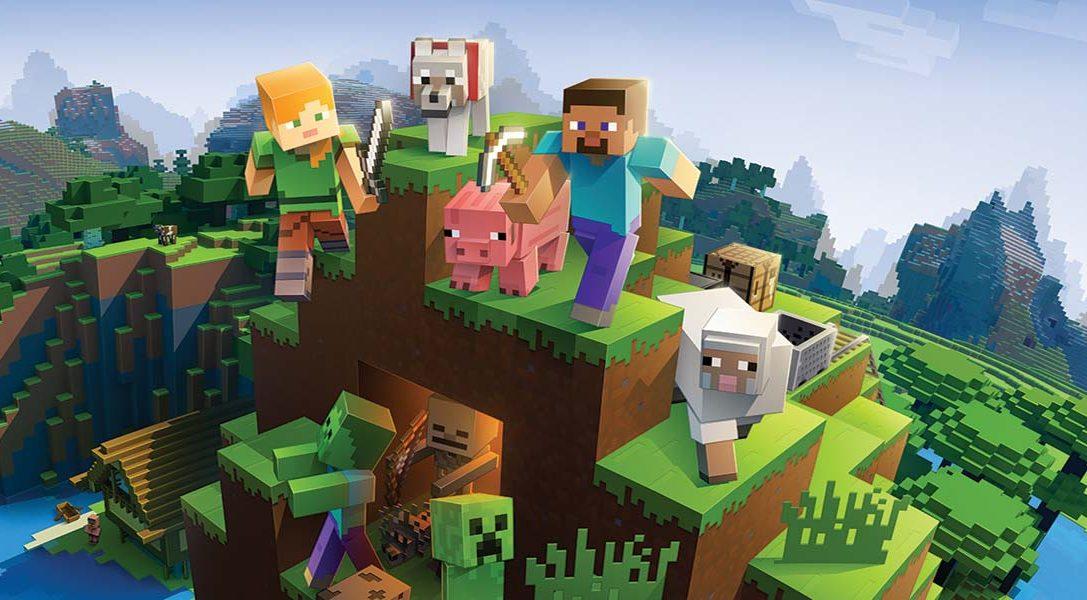 La edición Bedrock de Minecraft incluye la función cross-play