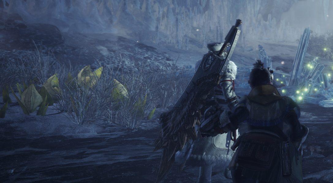 Nuevas amenazas, armas y zonas en la nueva actualización de hoy de Monster Hunter World: Iceborne