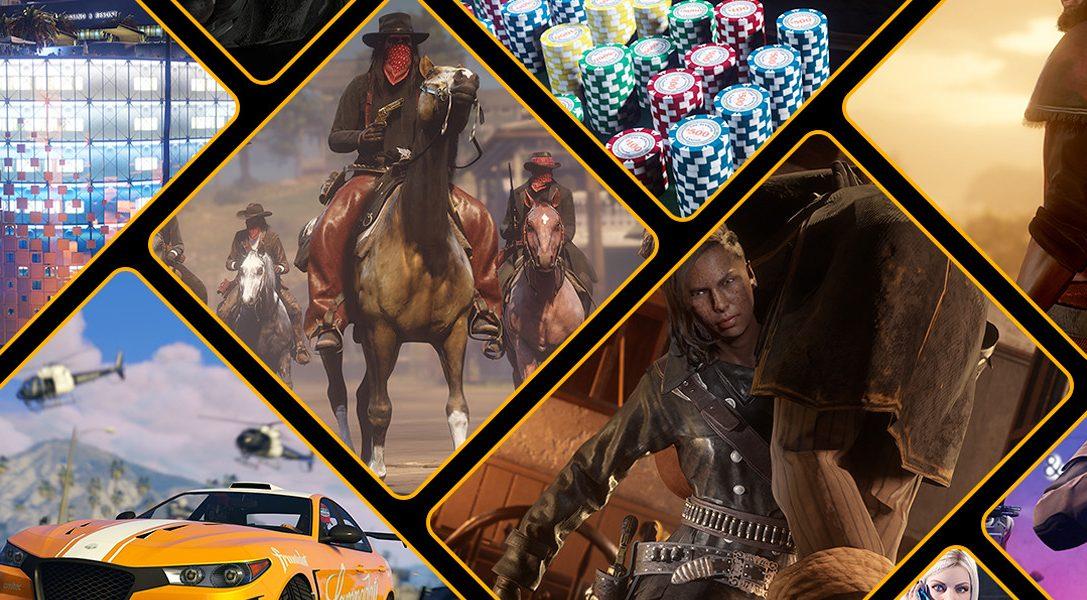 GTA Online y Red Dead Online – Bonificaciones de agradecimiento