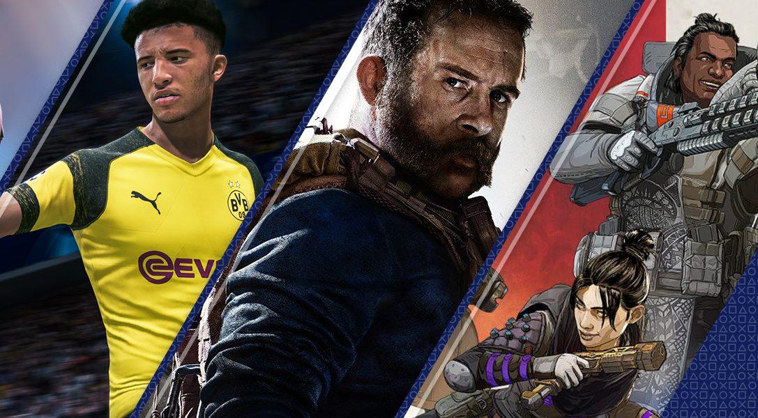 Estos fueron los juegos más descargados en PlayStation Store en 2019