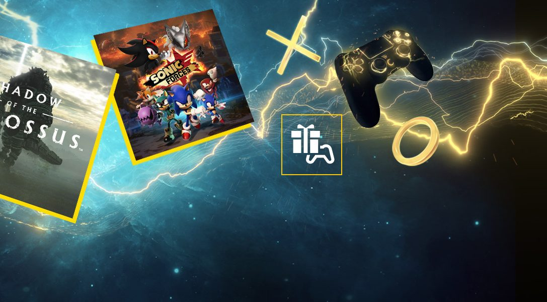Shadow of the Colossus y Sonic Forces son tus juegos de PS Plus para marzo