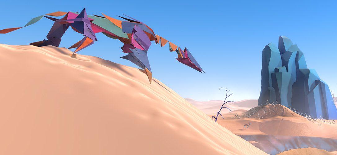 Cómo se creó el cautivador mundo alienígena del juego Paper Beast para PS VR