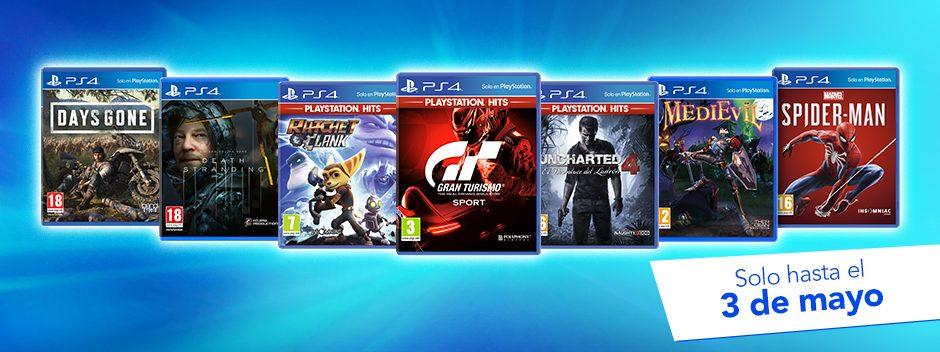 Hazte con las ofertas de PS4 y juegos exclusivos por tiempo limitado
