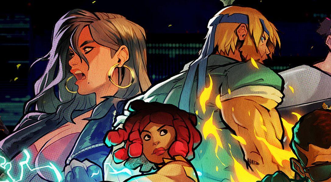 Cómo se rediseñaron los icónicos personajes de Streets of Rage para la cuarta entrega
