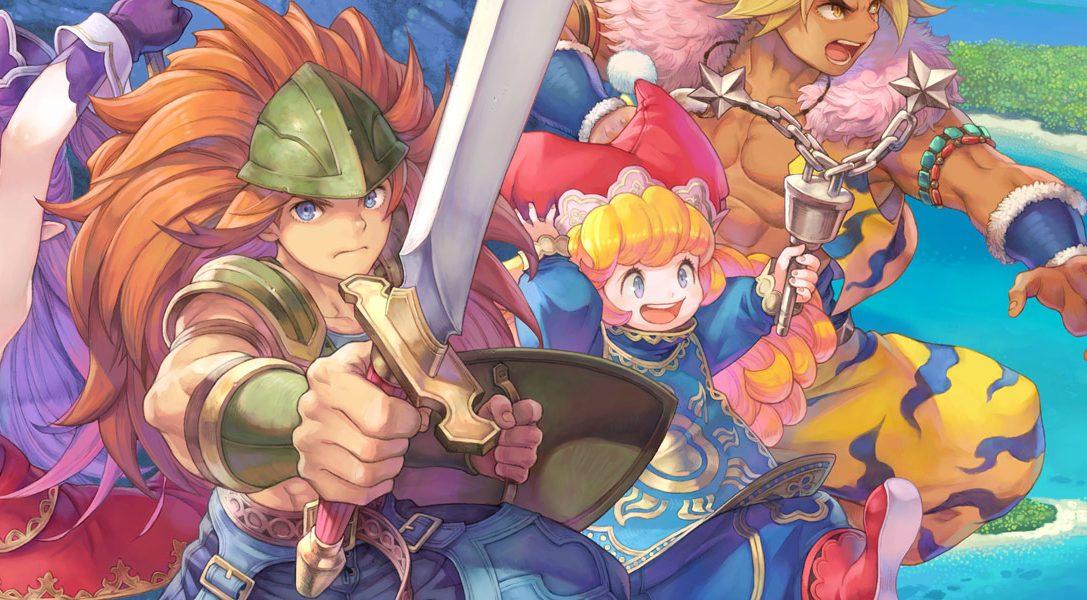 Aquí podéis ver las novedades y las mejoras de Trials of Mana que llega mañana a PS4