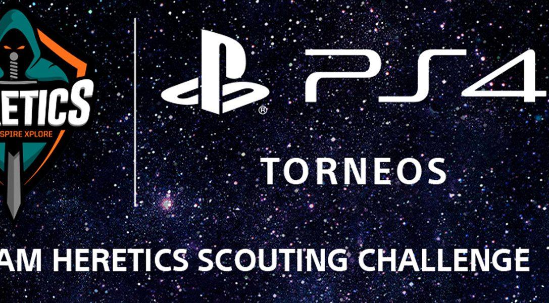 Participa en el Team Heretics Scouting Challenge de FIFA 20 y conviérte en el próximo jugador del equipo