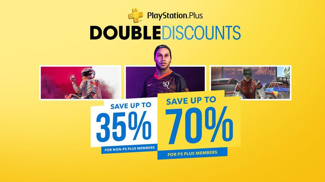 Hoy empieza la promoción Descuentos Dobles en PlayStation Store