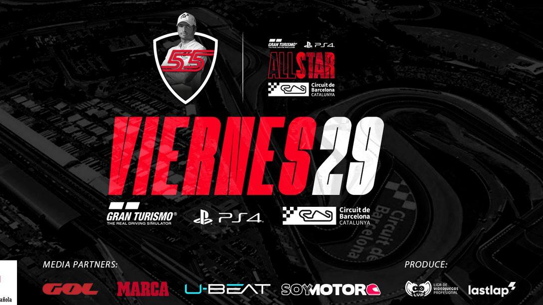 Gran Turismo All Star | Carlos Sainz lidera la próxima competición virtual en el Circuit de Barcelona-Catalunya
