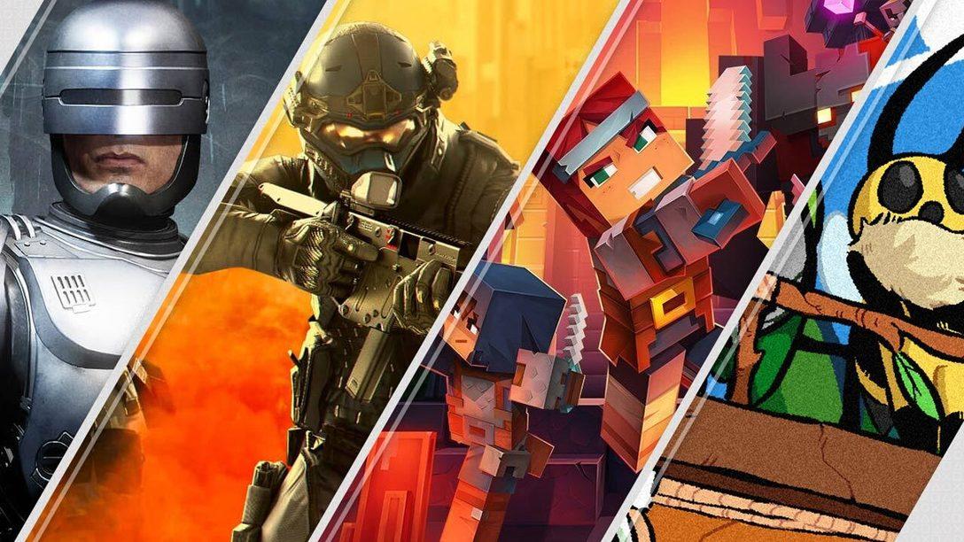 Mortal Kombat 11 Aftermath y Minecraft Dungeons encabezan los lanzamientos de esta semana en PlayStation Store