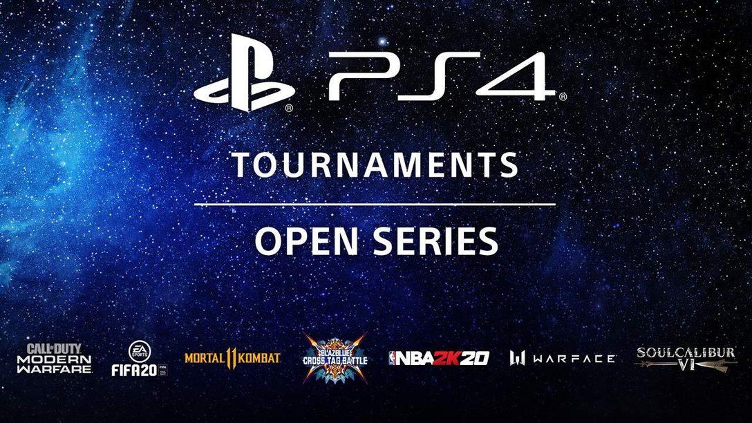 La competición sigue con los Torneos de PS4: Open Series