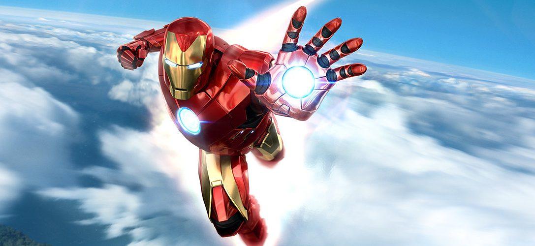¡Conviértete en el Vengador Armado con el pack Marvel's Iron Man VR de mandos PlayStation Move y descarga la demo gratuita hoy mismo!