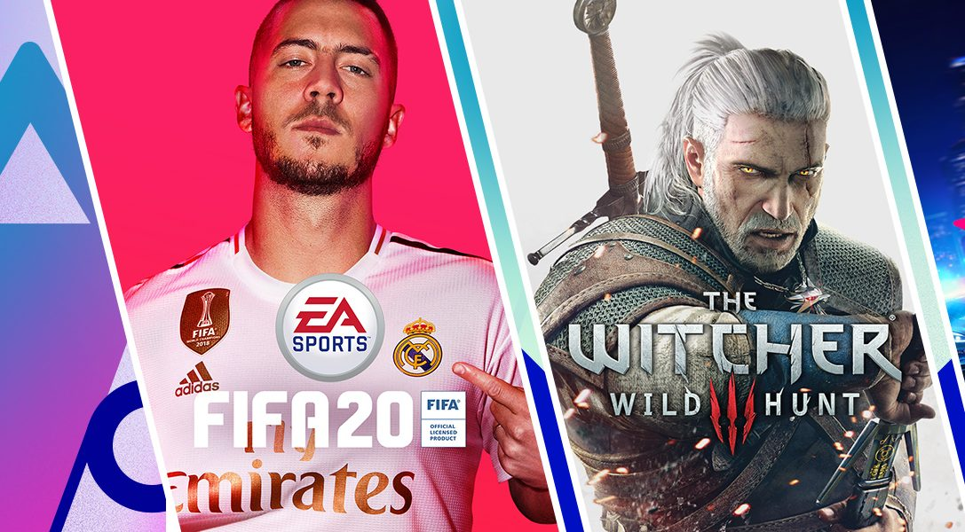 FIFA 20 Champions Edition, The Witcher 3: Wild Hunt dentro de las ofertas Extended Play
